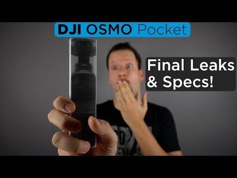 DJI Osmo Pocket Final Leaks & Specs [4K]