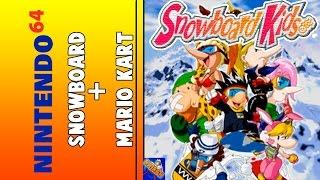 SNOWBOARD KIDS N64 - EN DIRECTO HD