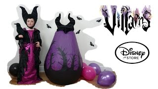 disney villains maleficent in real life super giant surprise egg maleficent witch kids video