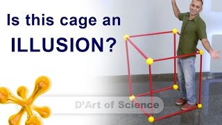 How create this ILLUSION of a cage - dartofscience