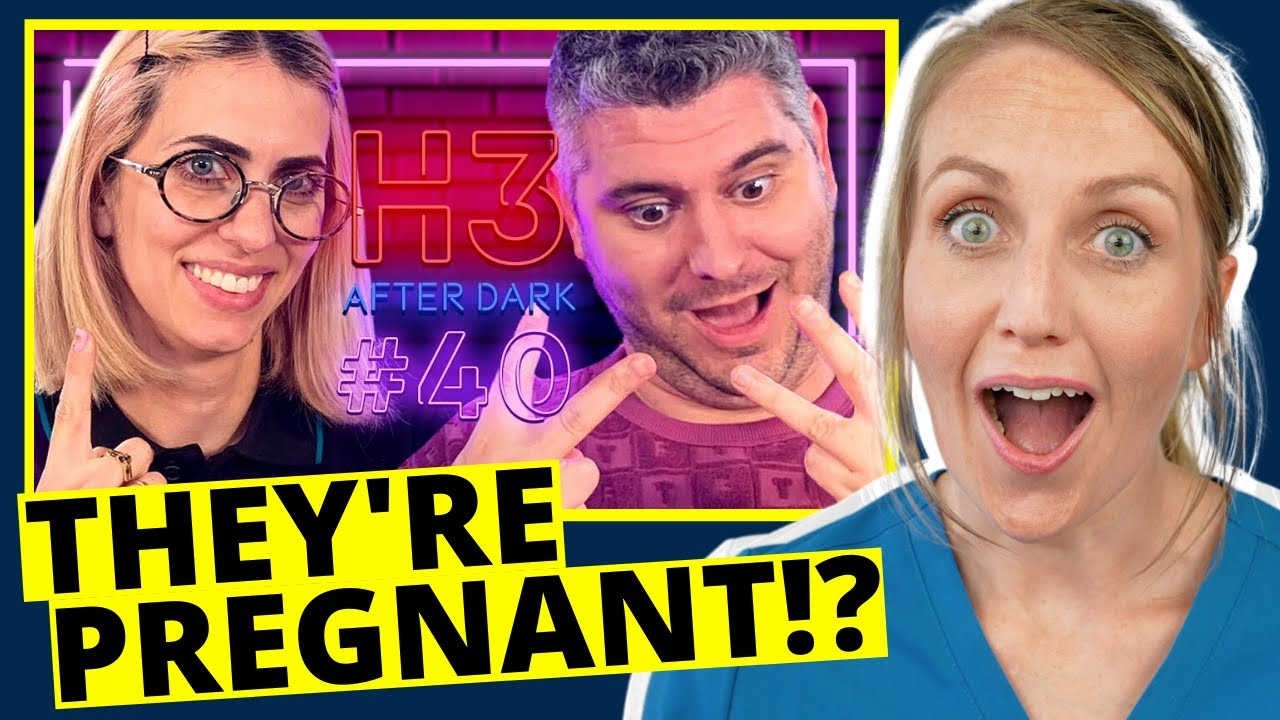 ObGyn Reacts H3 Podcast PREGNANCY - Twins/Triplets?! - Answering All The Questions