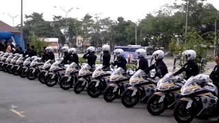 Aksi pantas dan hebat Polis Diraja Malaysia