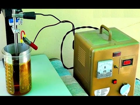 Electrolytic gold recovery Gold Electrolysis. gold electrolysis process.