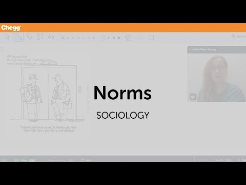 Norms | Sociology | Chegg Tutors