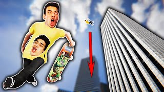 I LAUNCHED 1,000 FEET IN THE AIR?! (Skater XL)