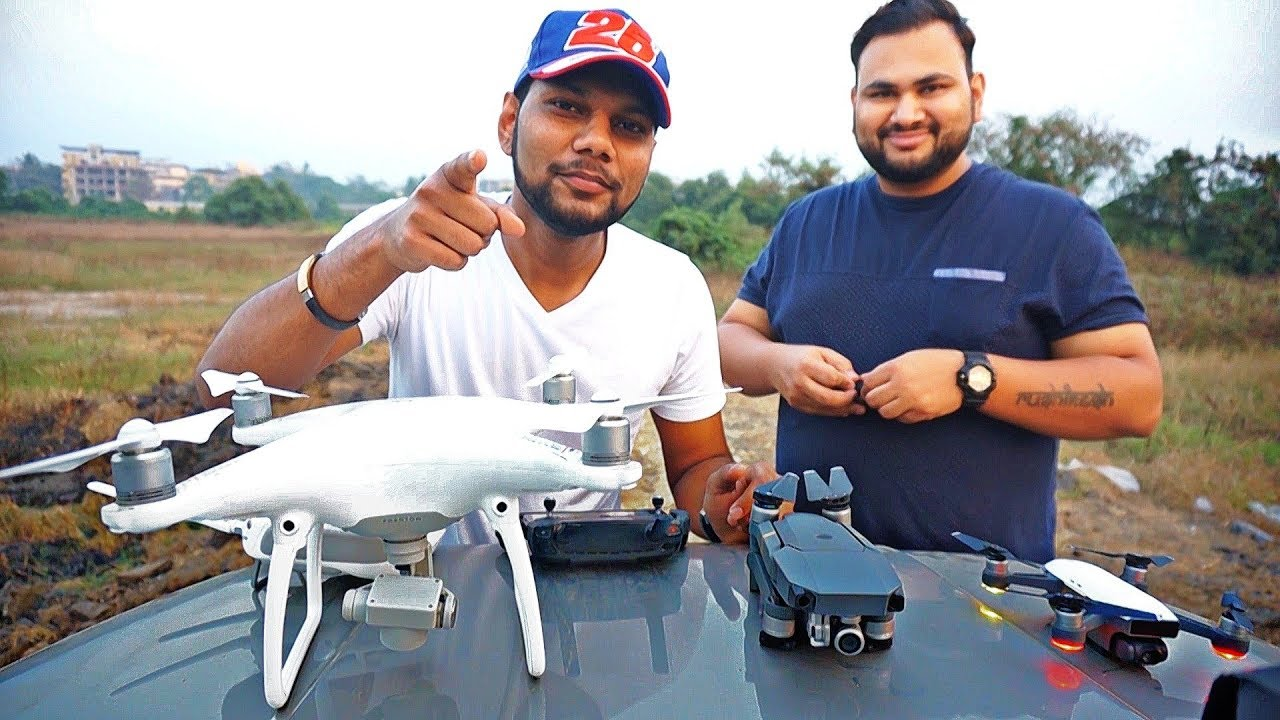 DJI DRONES IN INDIA | Comparison on Budget and Video ...