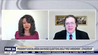 Guest on Fox 26 KRIV to Discuss Social Media and the First Amendment