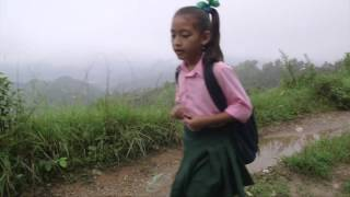 Walking to School in the Himalayas