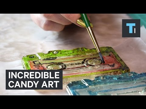 Incredible candy art