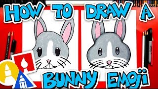 How To Draw The Bunny Face Emoji + Spotlight