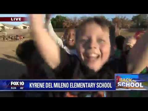 Back to school: Kyrene del Milano Elementary School