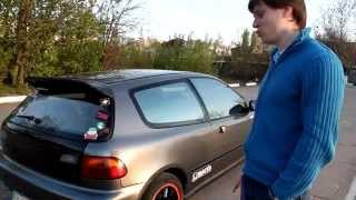 Обзор и Тест драйв Honda Civic EG 1,3 карбюратор