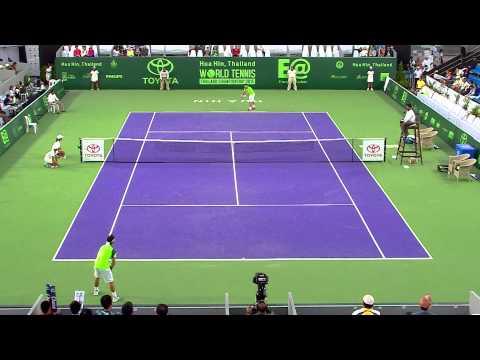 David Ferrer VS John Fabio fognini 02 01 58  3th Place