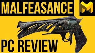 Destiny 2 Forsaken: Malfeasance PC Exotic Review