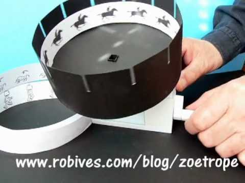 Papercraft Zoetrope a paper model