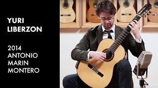 Gambar cover Adagio by J.S. Bach - Yuri Liberzon plays Antonio Marin Montero