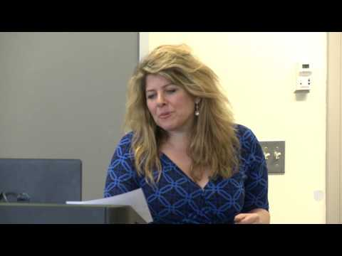 "Naomi Wolf, ""The Pitch"" workshop, presented by the College of Arts and Sciences"