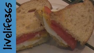 How To...make A Killer Egg And Tomato Sandwich