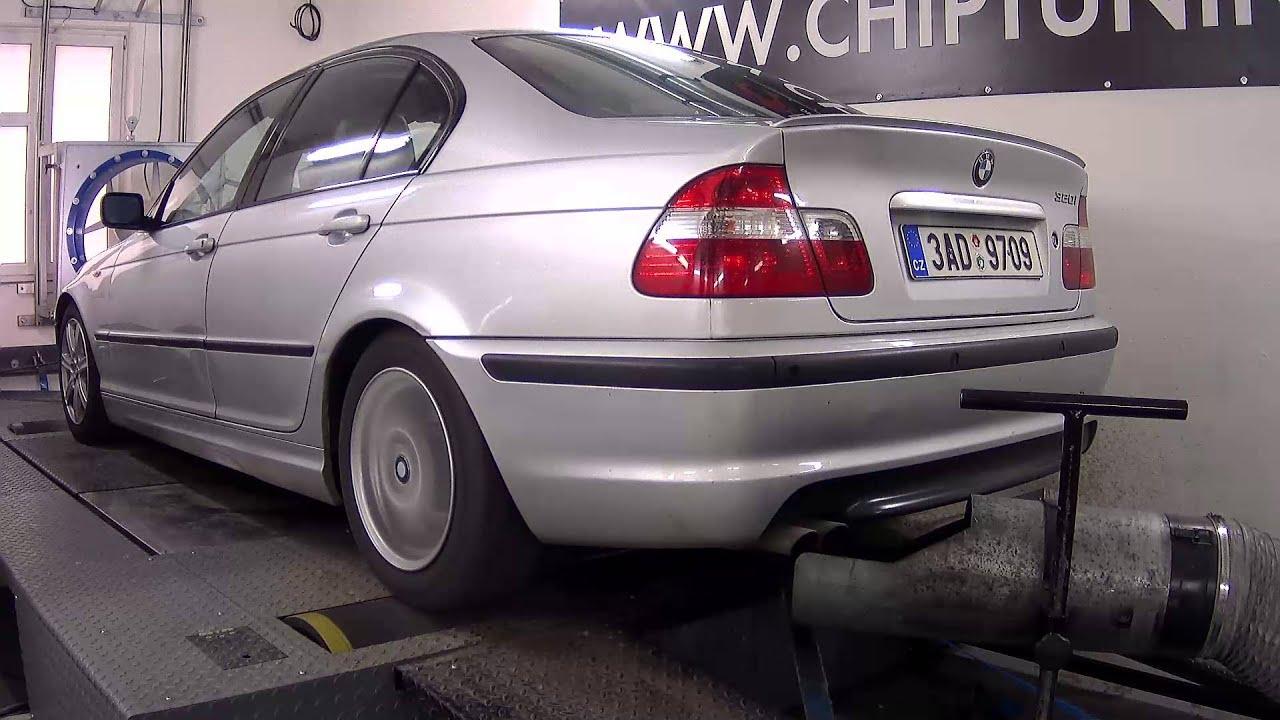 Chiptuning a měření výkonu BMW 320i 125kW