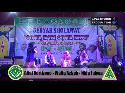 Wawancara Rijal Vertizone-Wafiq Azizah-Nida Zahwa- Gebyar Sholawat IPNU-IPPNU Gentasari Kroya 2017