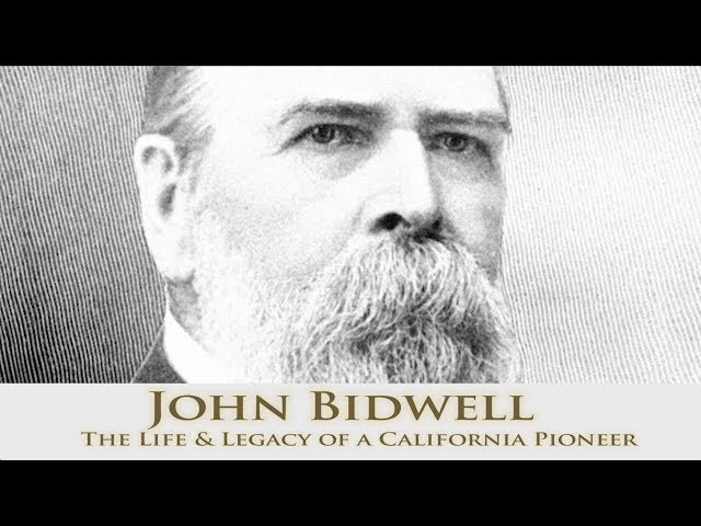 John Bidwell The Life Legacy Of A California Pioneer Tyler Ash S Professional Web Resume