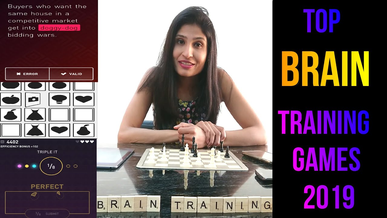 Top brain training games (2019) Free Android / Ios