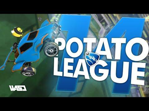 POTATO LEAGUE #14 | Rocket League Funny Moments & Fails thumbnail