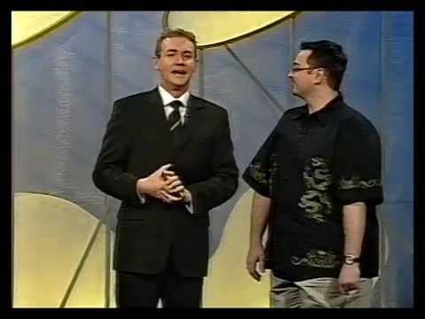 Ben Croker - Game Show 'Initial Reaction' Episode 2, 2000