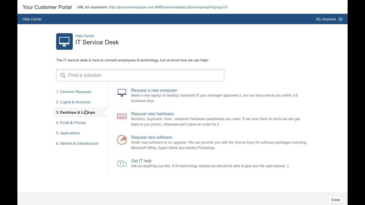 Introduction To Jira Service Desk Youtube Rh Youtube Com Email Help Desk  Software Helpdesk Portal Portal