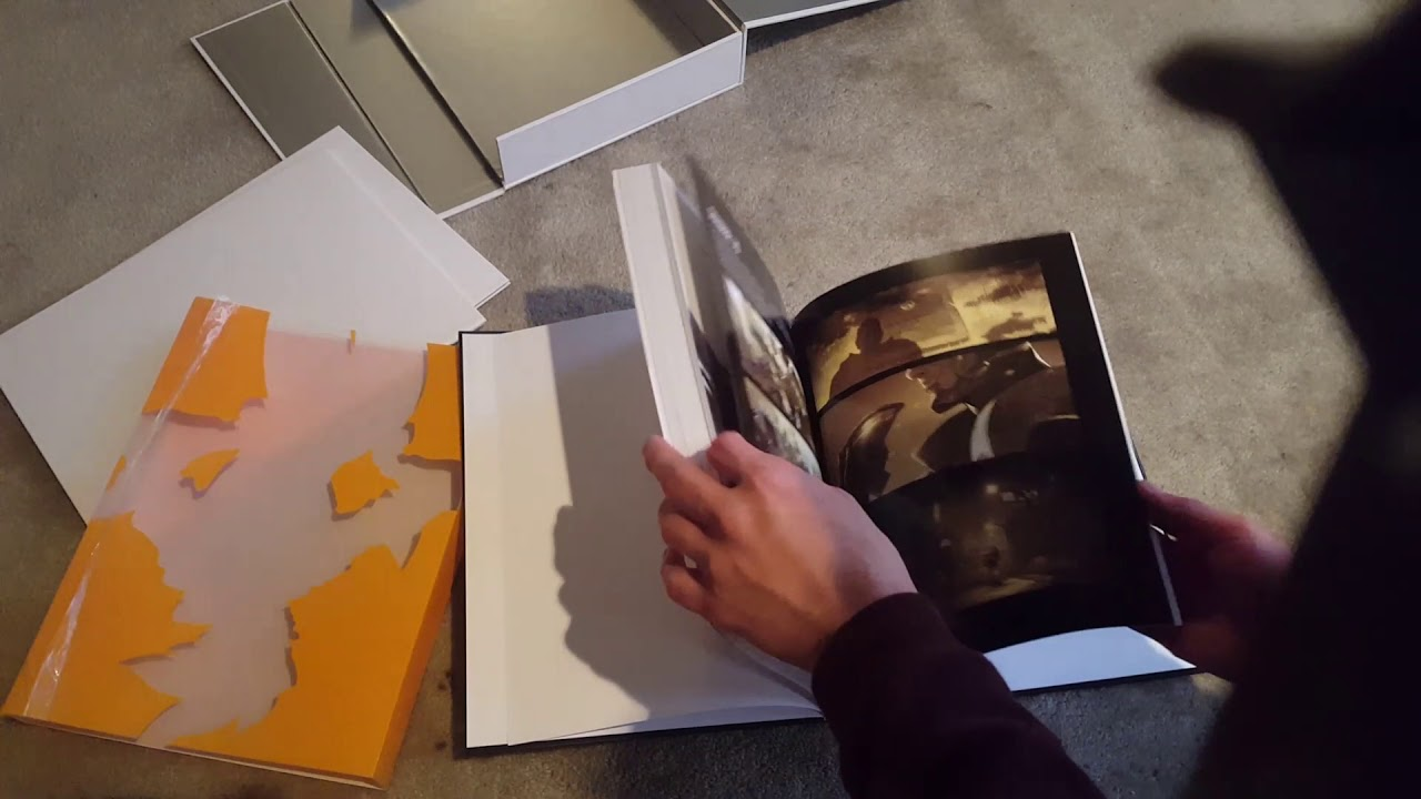 Overwatch Limited Edition Artbook Unboxing