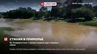 В Уссурийске введен режим ЧС после выпадения рекордного количества осадков
