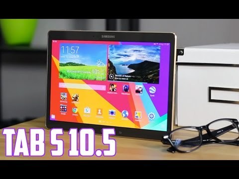 Samsung Galaxy Tab S 10.5 : Review en español