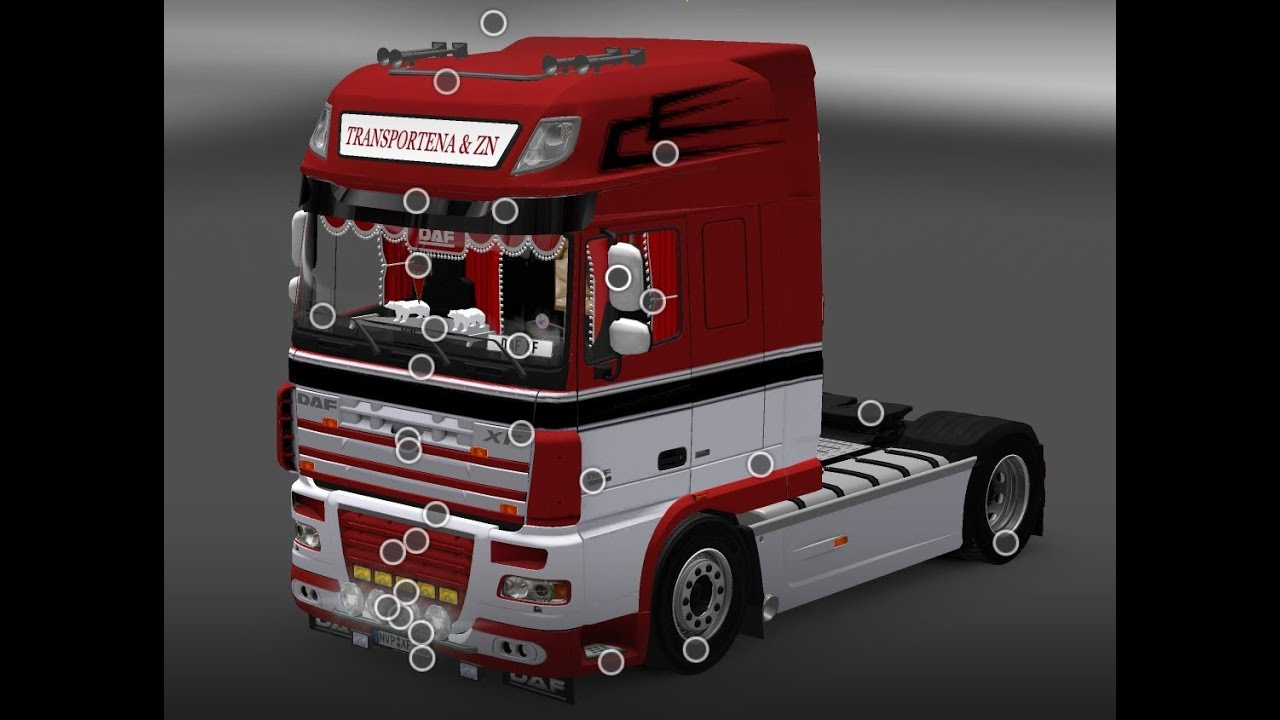 Awm camiones DAF XF 106 SSC//aerop rundmulden-SZ Stöckl 54421