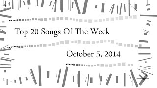 Top 20 Songs Of The Week | Iptec Music Charts | October/Oktober 2014 (05.10.2014)