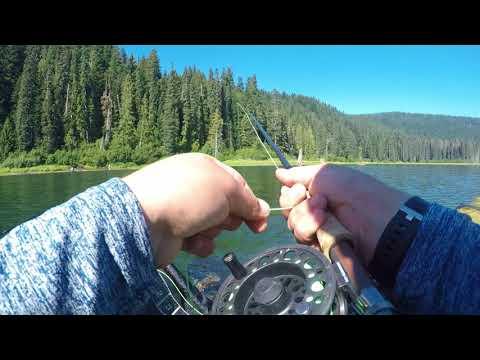 Fly Fishing: Goose Lake,  WA