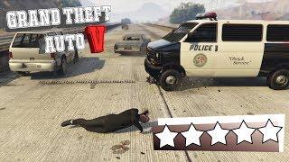 Die große (fast) 5 Sterne Flucht | Grand Theft Auto 5 | #014