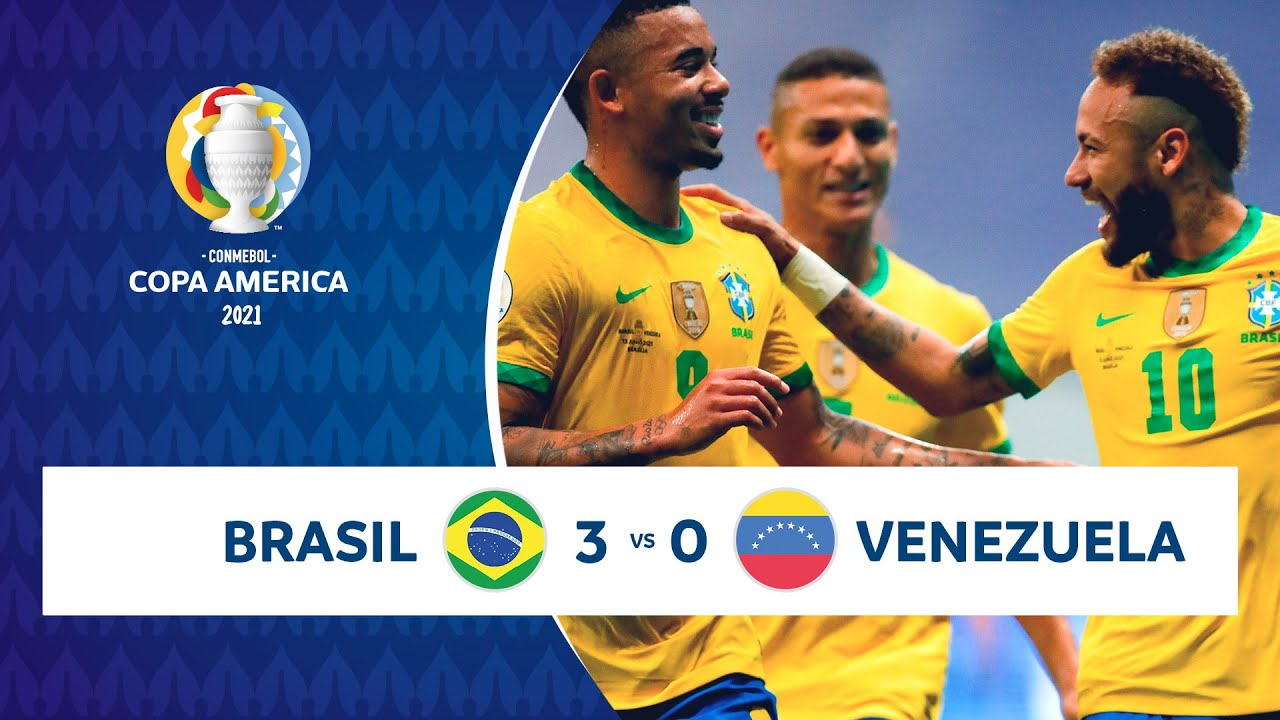 HIGHLIGHTS BRASIL 3 - 0 VENEZUELA | COPA AMÉRICA 2021 | 13-06-21