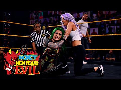 Kushida & Blackheart vs. Gargano & LeRae – Mixed Tag Team Match: NXT New Year's Evil, Jan. 6, 2021