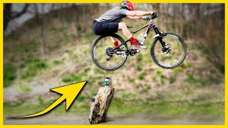 Pro Mountain Biker Shows How to Bunny Hop 🔥