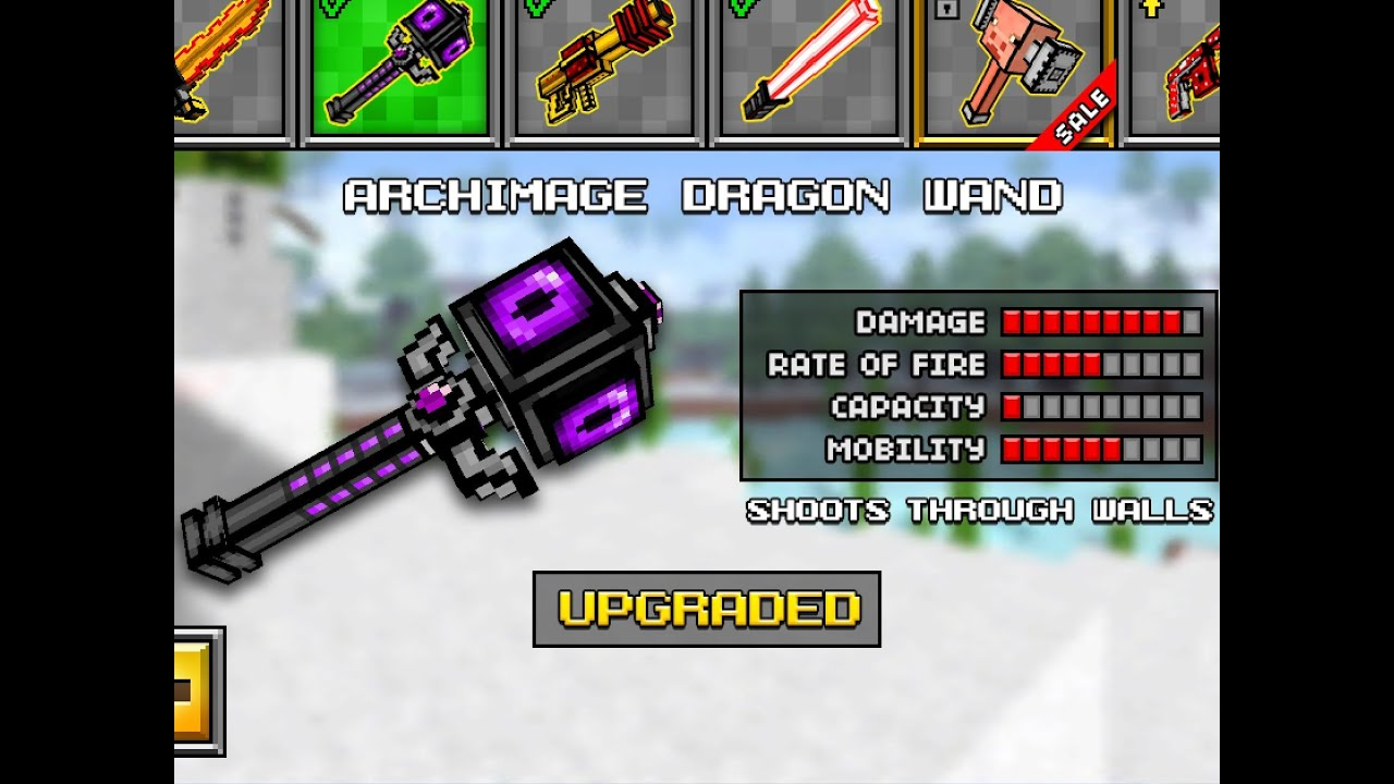 pixel gun how to get guns in servi