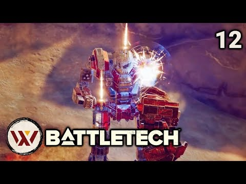 No Mistakes (3 skull) - #12 BATTLETECH Let's Play Campaign Gameplay