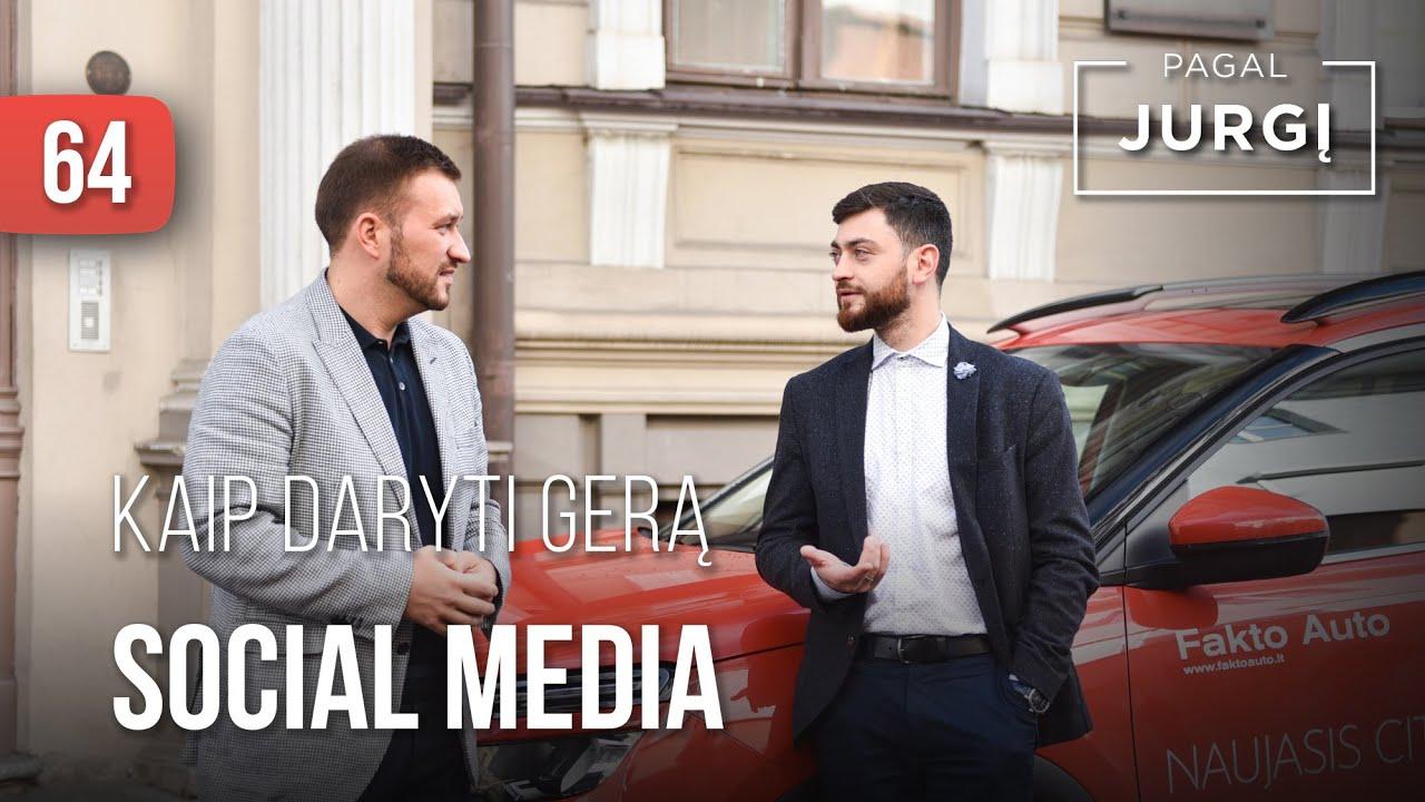 Arijus Žakas: Socialiniai tinklai nėra reikalingi visiems | Pagal Jurgį