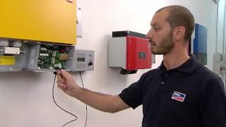 Impianti fotovoltaici off grid: guida alla connessione dell'inverter(Scopri, in pochi semplici passaggi, come installare e configurare il Sunny Island, l'inverter SMA ideale per impianti fotovoltaici non connessi alla rete. Visita il ..., 2014-04-11T06:57:13.000Z)