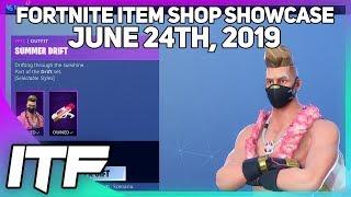 Fortnite Item Shop *NEW* SUMMER DRIFT SET! [June 24th, 2019] (Fortnite Battle Royale)
