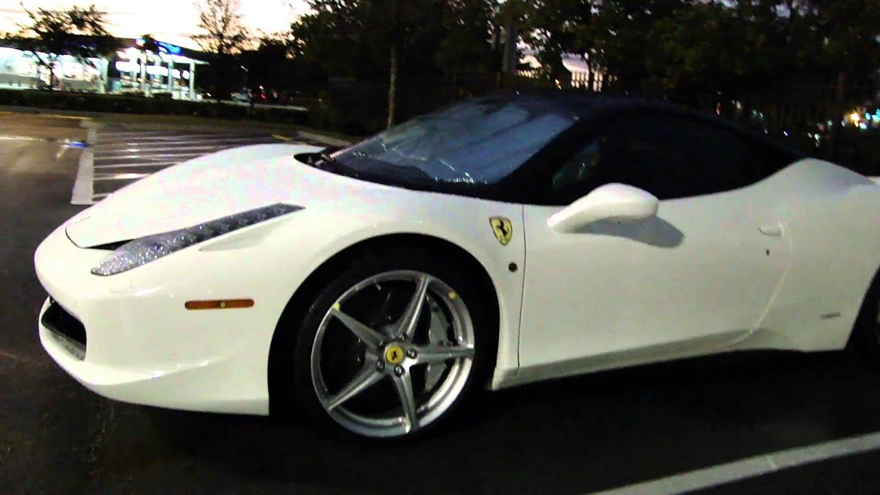 ferrari 458 white and black. ferrari 458 white and black n