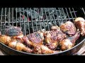 How To Make BBQ Grilled Chicken - Grilled Roaside Chicken Recipe - Weber Grill
