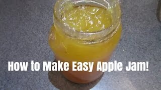 Gambar cover How to make easy apple jam