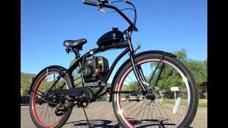 5th Generation 4-Stroke Motorized Bike by U-MOTO