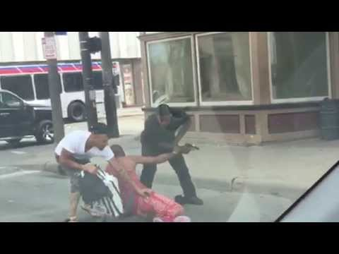 VIDEO: Horrifying Cleveland robbery caught on tape