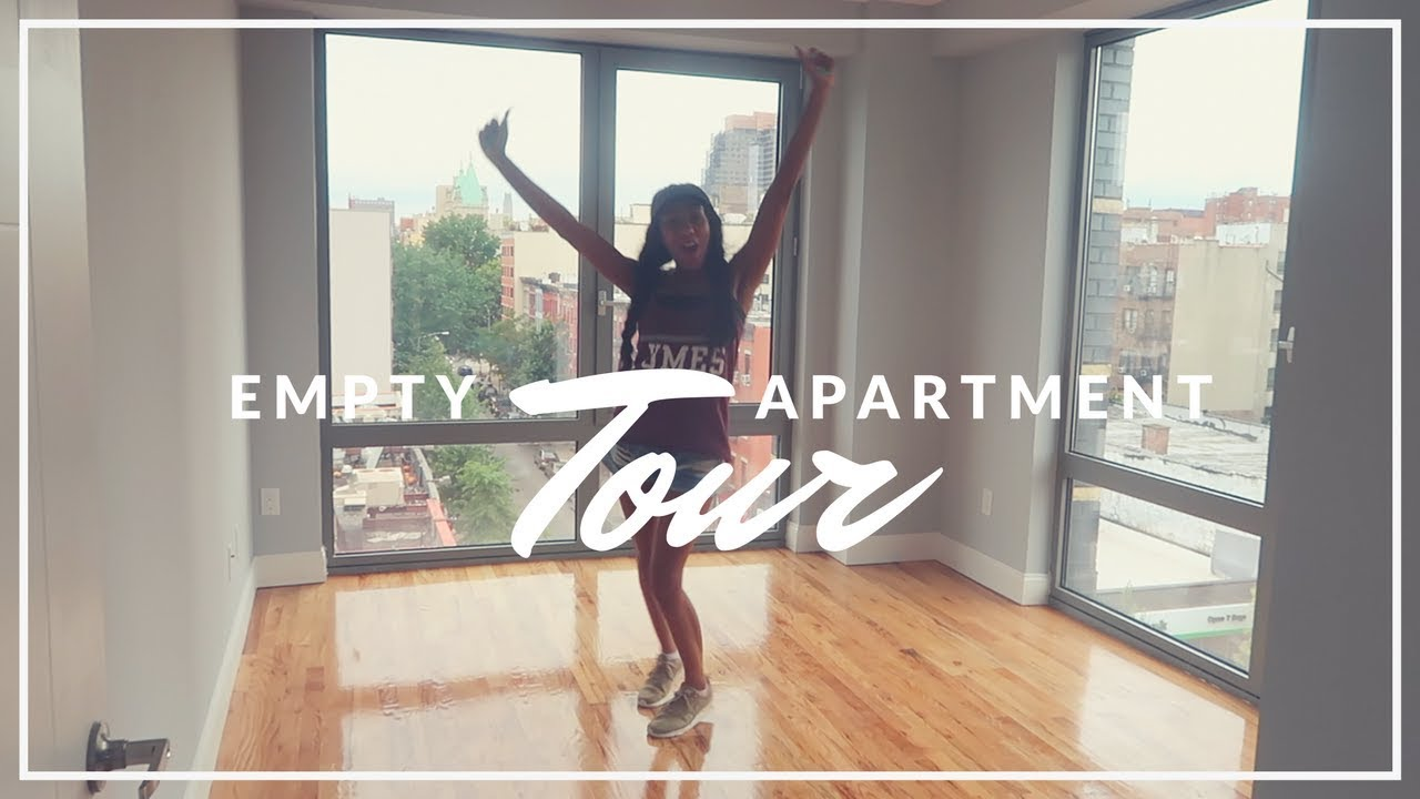 Empty Apartments Inside moving to nyc #2 empty apartment tour - youtube